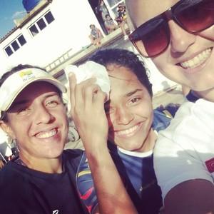 Patrícia Carvalho Delta Rugby (Foto: Reprodução/Facebook)