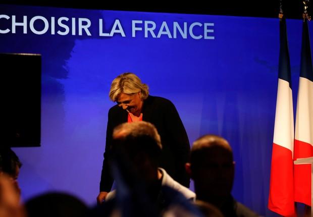 Le Pen reconhece derrota (Foto: Pascal Rossignol/Reuters)