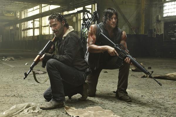 Uma cena de The Walking Dead (Foto: Divulgação)