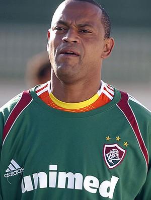 Atacante Tuta, na época no Fluminense (Foto: Globoesporte.com)