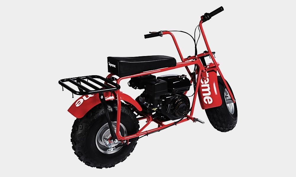 A Supreme x Coleman CT200U Mini Bike (Foto: Divulgação)