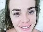 Paulinha ri de polêmica sobre sobrancelha: 'Me divirto'