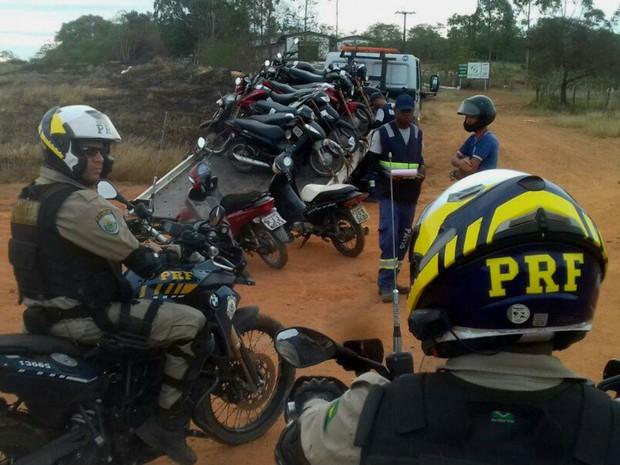 Turista foi localizado durante operação da Polícia Rodoviária Federal (Foto: Divulgação / PRF)