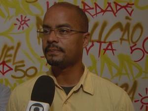 Equipe médica resolveu manter a internação de Edilson Silva na UTI coronariana (Foto: Reprodução / TV Globo)
