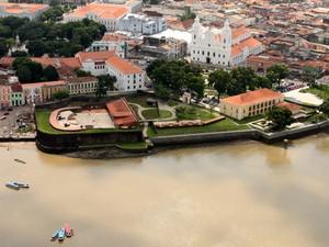 Complexo Feliz Lusitânia faz parte das 2,8 mil construções de Belém fazem parte da área protegida pelo governo federal. (Foto: Oswaldo Forte/Amazônia Jornal)