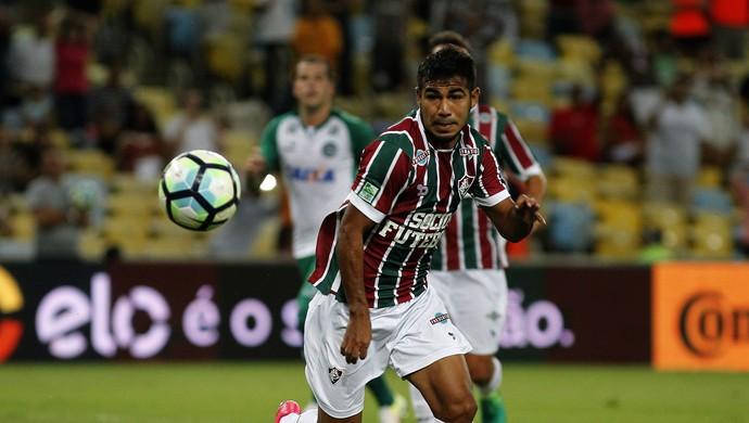 Sornoza Fluminense x Goiás (Foto: Nelson Perez/Fluminense)
