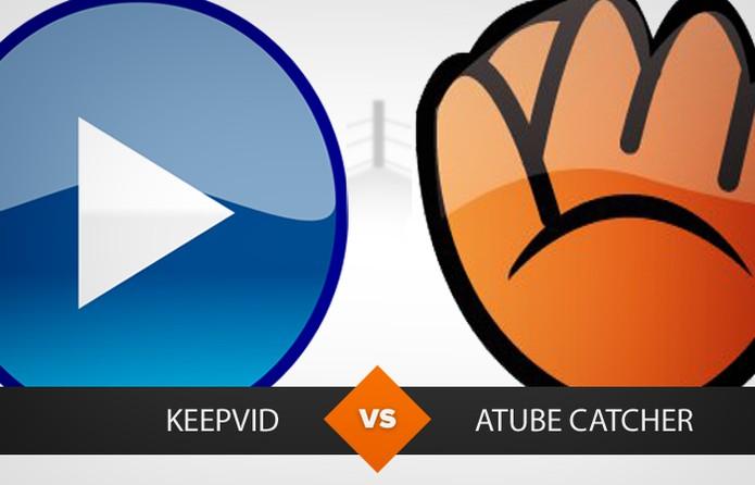 Comparativo aTube Catchar e Keepvid (Foto: Arte TechTudo/Carol Danelli)
