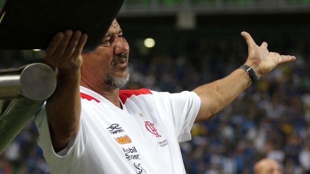 Joel Santana Flamengo x Cruzeiro (Foto: Paulo Fonseca / Ag. Estado)
