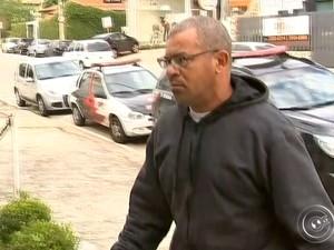 Homem é suspeito de matar motociclista em Sorocaba (Foto: Reprodução/TV TEM)