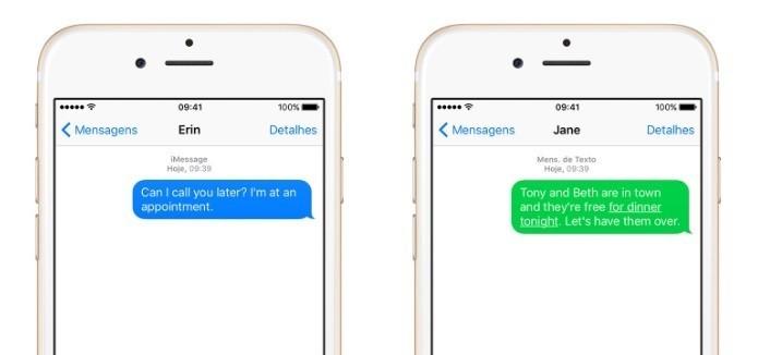 Apesar dos rumores, Apple não lançará iMessage para Android (Foto: Divulgação/Apple)
