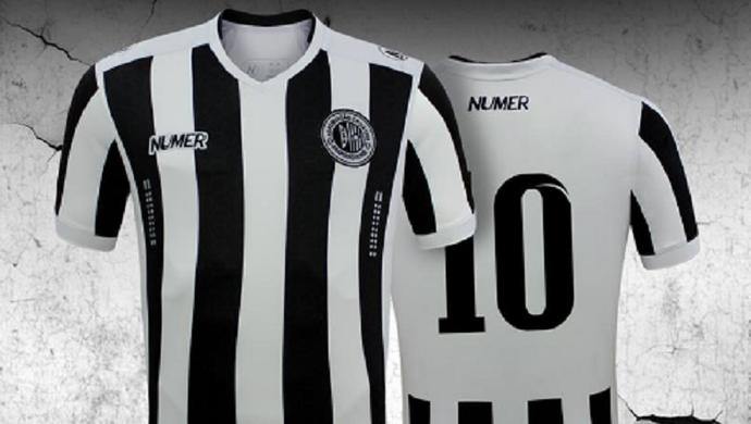 ASA lança nova camisa  (Foto: Divulgação Numer)
