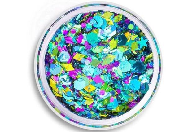 Multicores e em gel, Mystic Mermaid Glitter, US$ 10, uniglitter.com (Foto: Reprodução)