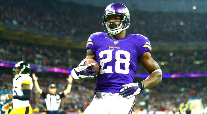 Adrian Peterson Minessota Vikings (Foto: Getty Images)