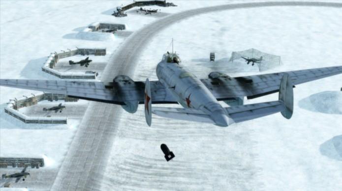 IL-2 Sturmovik surpreende até mesmo o fã de jogos de combate e simulação com aviões (Foto: Divulgação)