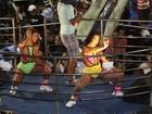 Dançarinas do 'É o Tchan' animam bloco da banda em Salvador