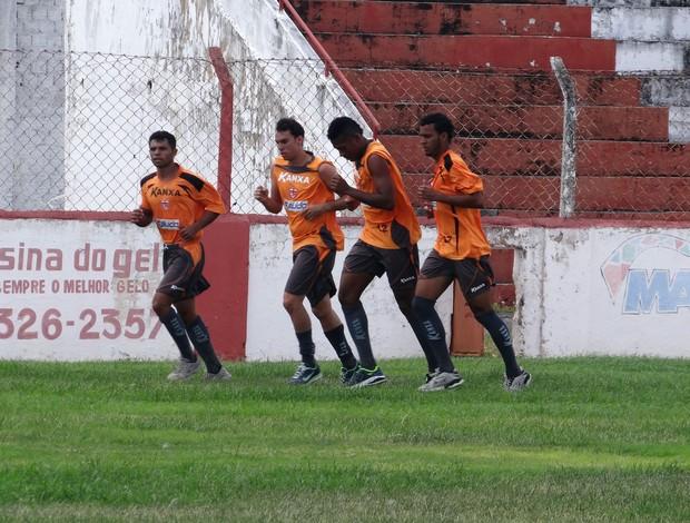 Treino CRB (Foto: Globo Esporte/AL)