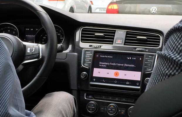 Usuário pode ouvir música através do Google Play Música (Foto: Anaís Motta/Autoesporte)