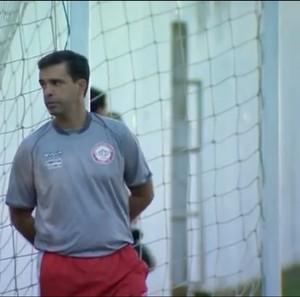 Junior Lopes técnico Tombense (Foto: Reprodução/TV Integração)