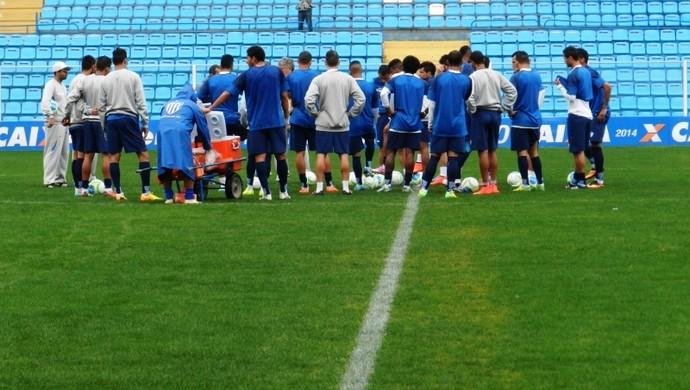 Jogadores Avaí (Foto: André Palma Ribeiro/Avaí FC)