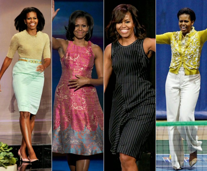Estilo de Michelle Obama é inspiração para Maju (Foto: TV Globo)