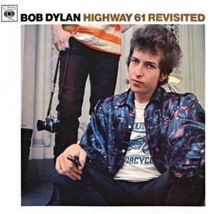 Capa de 'Highway 61 revisited'