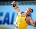 Darlan Romani volta a bater o recorde brasileiro do arremesso de peso