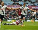 Harry Kane faz dois, Tottenham vence lanterna e coloca pressão no Leicester