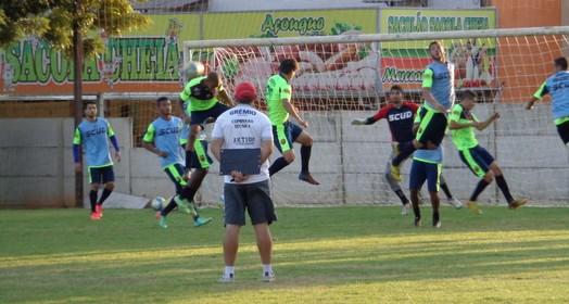 ajustes (Rogério Mative / Divulgação, Grêmio Prudente)