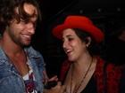 Pablo Morais, affair de Anitta, curte balada no Rio com Gissoni e Vilhena