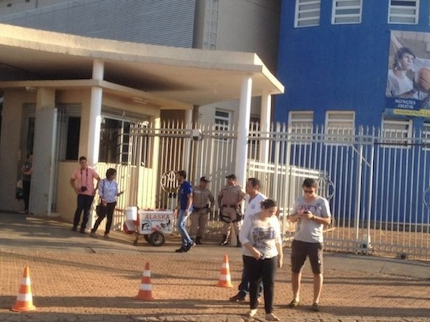 Candidato a prefeito de Palmas, Raul Filho, não compareceu às urnas (Foto: Jesana de Jesus/ G1)