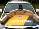 Polícia apreende 20 tabletes de maconha em bagageiro de ônibus