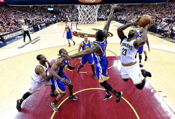 LeBron James Cleveland Cavaliers Golden State Warriors NBA final (Foto: Reuters)