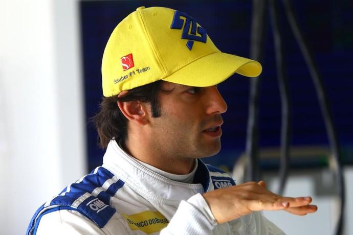 O brasileiro Felipe Nasr emplacou a Sauber na terceira posição deste domingo (Foto: Divulgação)
