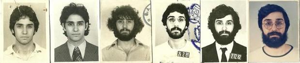 Mauro Iasi em imagens da juventude (Foto: Arquivo pessoal/Divulgação)