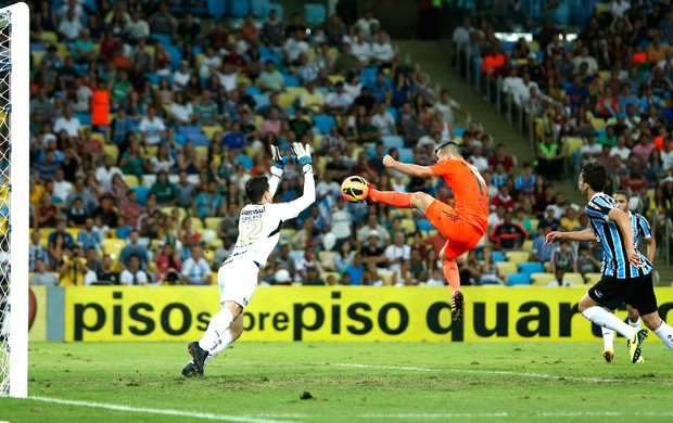 Wagner jogo Fluminense e Grêmio (Foto: Alexandre Cassiano / Ag. O Globo)