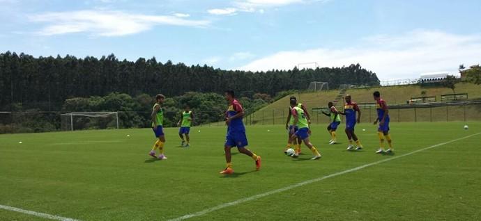 Madureira, treino em Porto Feliz (Foto: Divulgação/Madureira)