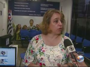 Gerente regional do Ciee em Campinas, Rosangela Pereira (Foto: Reprodução/ EPTV)
