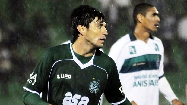 Rodrigo Arroz protagonizou lance mais importante da derrota do Guarani em Campinas (Foto: Rodrigo Villalba / Memory Press)