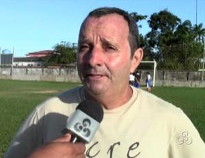 Josué Carvalho, presidente do Plácido de Castro (Foto: Reprodução/TV Acre)