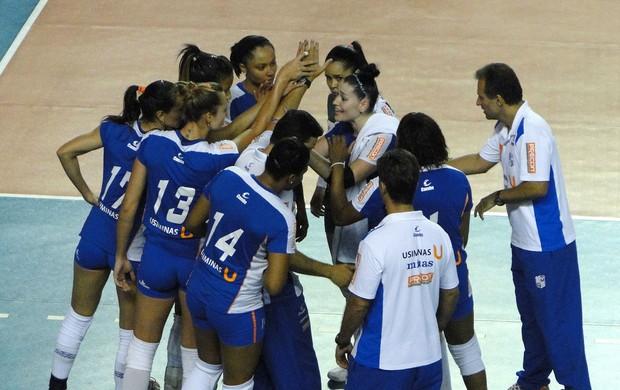 vôlei Minas (Foto: Leonardo Simonini / Globoesporte.com)