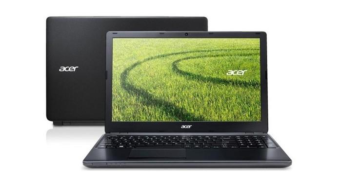 Aspire E1 572-6-BR648 da Asus possui 6 GB de memória RAM e um HD de 500 GB (Foto: Divulgação/Asus)