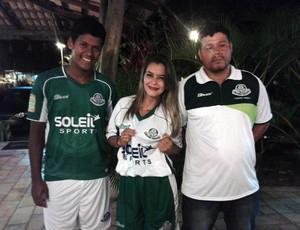 Palmeira de Goianinha - apresentação - jogadores (Foto: Divulgação/Palmeira-RN)