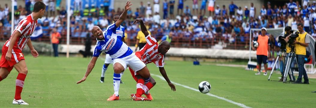 Veja os gols da vitória  de CSA 2 x 1 CRB (Ailton Cruz/Gazeta de Alagoas)