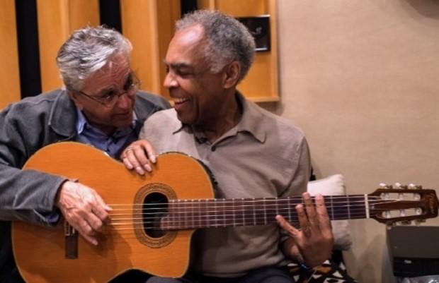 Caetano e Gil - violo (Foto: Reproduo)