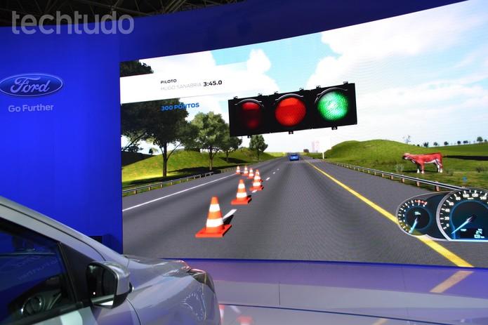 simulador (Foto: Melissa Cruz/TechTudo)