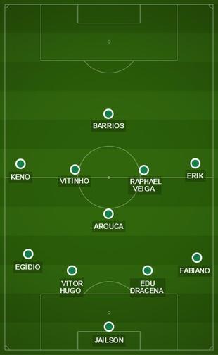 Campinho Palmeiras Time 2 Barbarense (Foto: GloboEsporte.com)