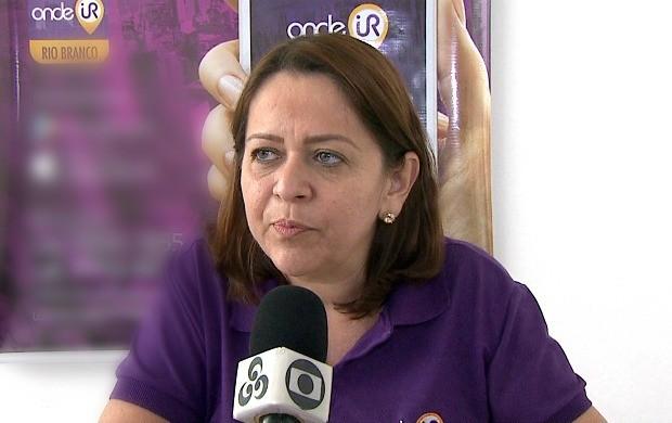 Empresária Silvana Maués investe no aplicativo para expandir e cobrir mais estabelecimentos na capital acreana (Foto: Bom Dia Amazônia)