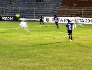 São Carlos e Botafogo ficam no empate em 1 a 1 (Foto: Rovanir Frias / São Carlos)