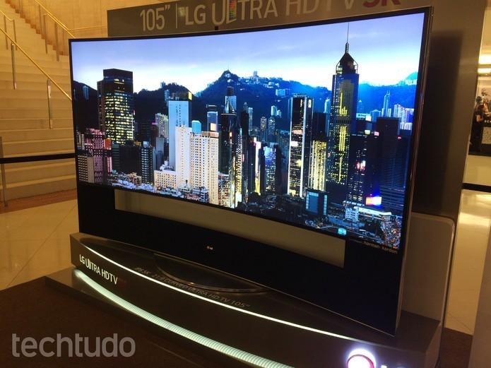 Tv 5K da LG chega no Brasil com preço salgado (Foto: Reprodução/Marcelo Paiva)