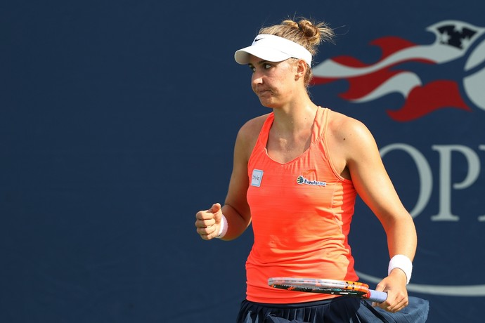 Bia Maia US Open (Foto: Matthew Stockman/Getty Images)